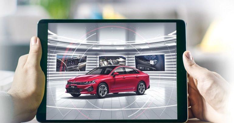 الماجد للسيارات تطلق صالة العرض الافتراضية بتقنية البث المباشر لعملاء كيا
