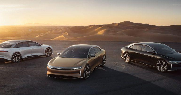 لوسيد موتورز تكشف عن لوسيد أير: سيارة السيدان الكهربائية الفاخرة الأكثر قوة وكفاءة في العالم