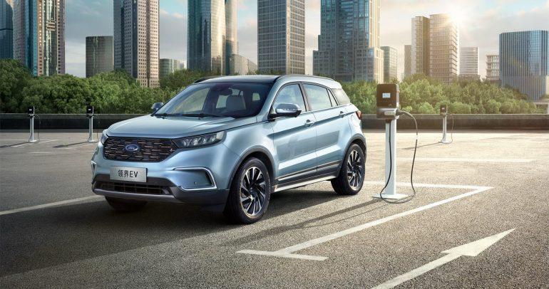 فورد تريتوري الكهربائية 2021.. تحصل على ترقيات جديدة في الصين