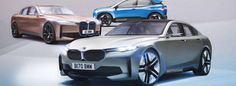 بي إم دبليو - سيارات كهربائية