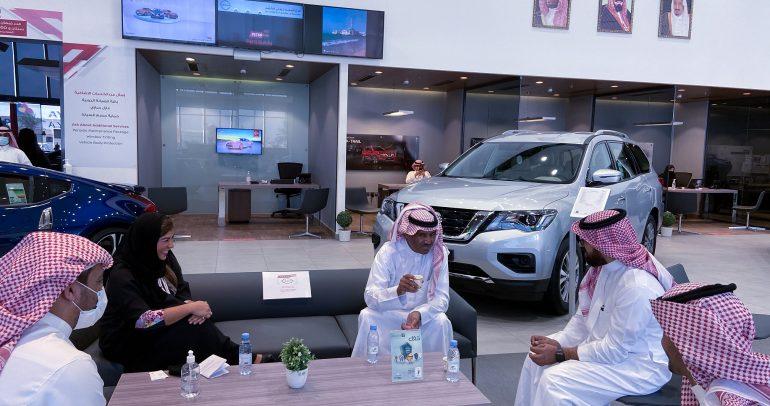 نيسان تحتفل مع المملكة العربية السعودية باليوم الوطني التسعين للمملكة
