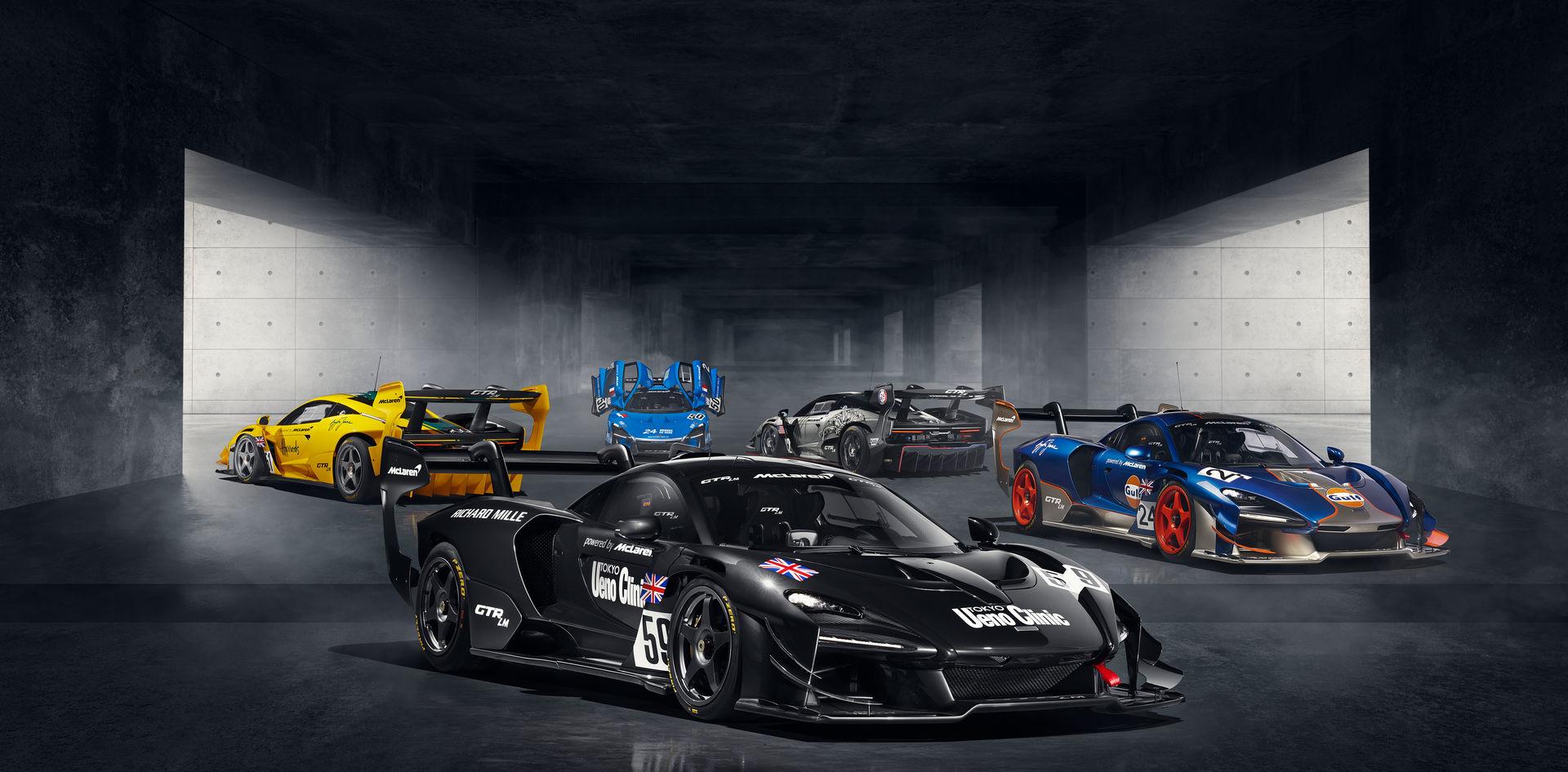 ماكلارين سينا GTR LM
