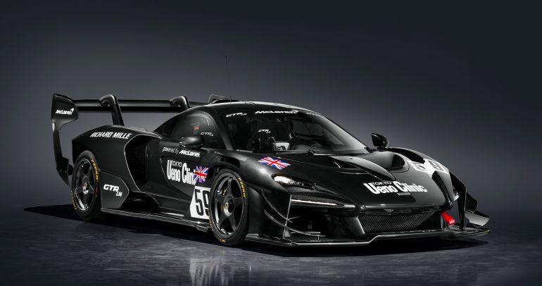 ماكلارين سينا GTR LM.. إصدار محدود لمرور 25 سنة من فوز سباق لومان