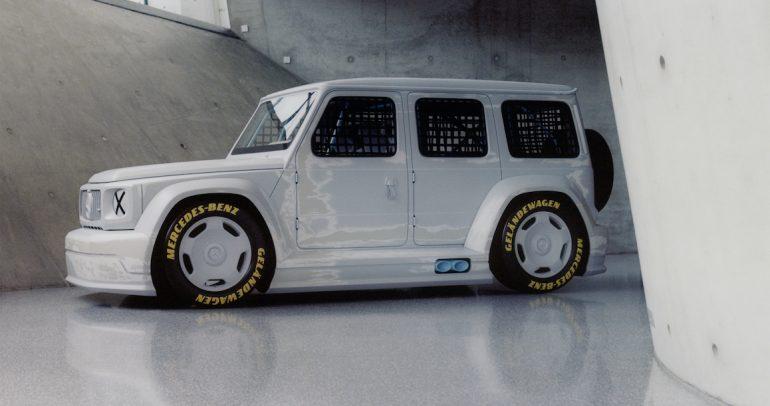 مرسيدس تطلق مشروع Geländewagen بلمسة المصمم فيرجيل أبلوه
