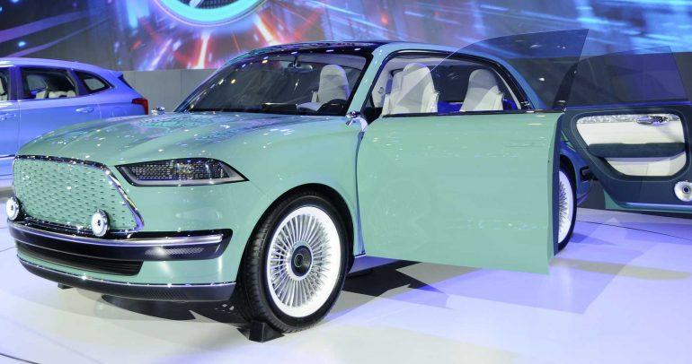 جريت وول تكشف عن Futurist.. السيارة الاختبارية شبيهة موستانج ماك إي
