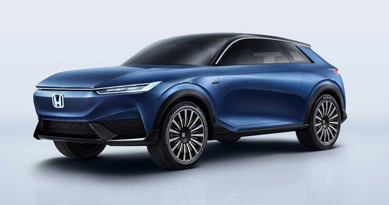 هوندا تكشف عن SUV E Concept في معرض بكين للسيارات