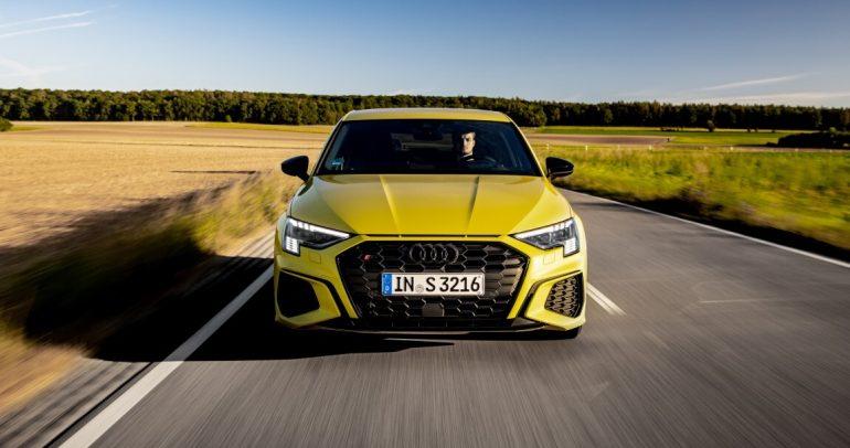 سيارة Audi S3 Sportback الجديدة وسيارة Audi S3 سيدان الجديدة