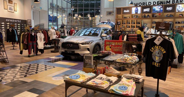 """إنفينيتي QX50 و """"American Rag Cie"""" يبرزان الأفضل في قطاع السيارات والموضة"""