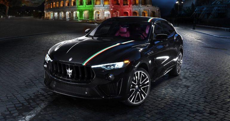 فاست أوتو تكنيك تستلم نسخة من الإصدار الخاص من سيارة مازيراتي ليڤانتي تروفيو Tricolore