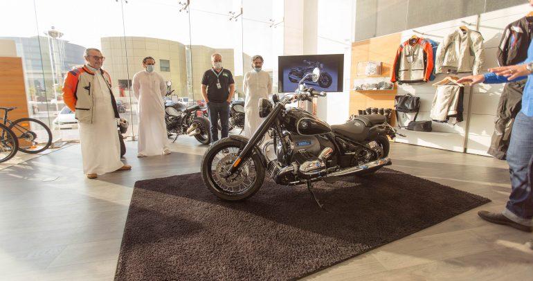 شركة محمد يوسف ناغي للسيارات أول من يطلق الدراجة النارية الجديدة BMW R 18 في الشرق الأوسط