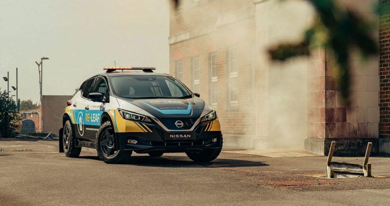 نيسان RE-LEAF.. السيارة الكهربائية الاختبارية لحالات الطوارئ والكوارث