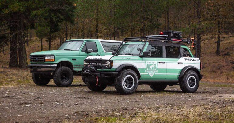 فورد تكشف رسمياً عن مفهوم سيارة برونكو لمكافحة الحرائق