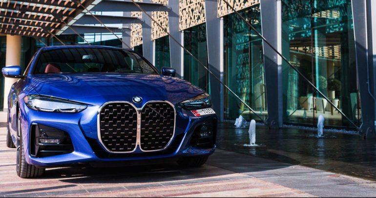 أبوظبي موتورز تعلن وصول سيارة BMW 4 Series Coupé