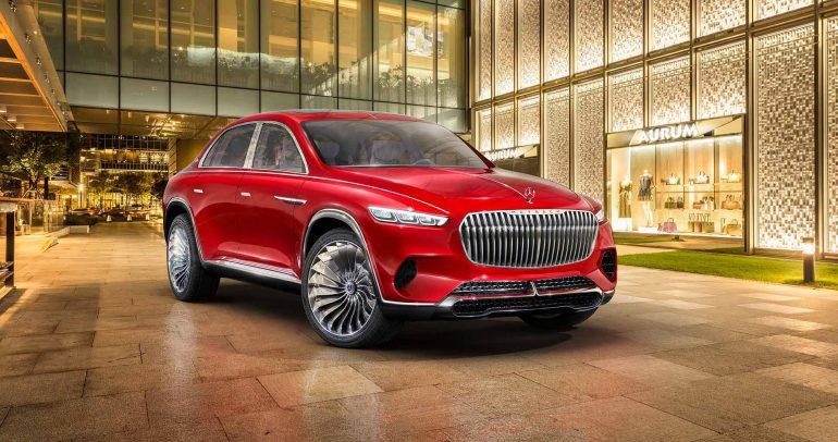 هل مرسيدس جادة في إنتاج مايباخ Vision Ultimate Luxury الاختبارية؟