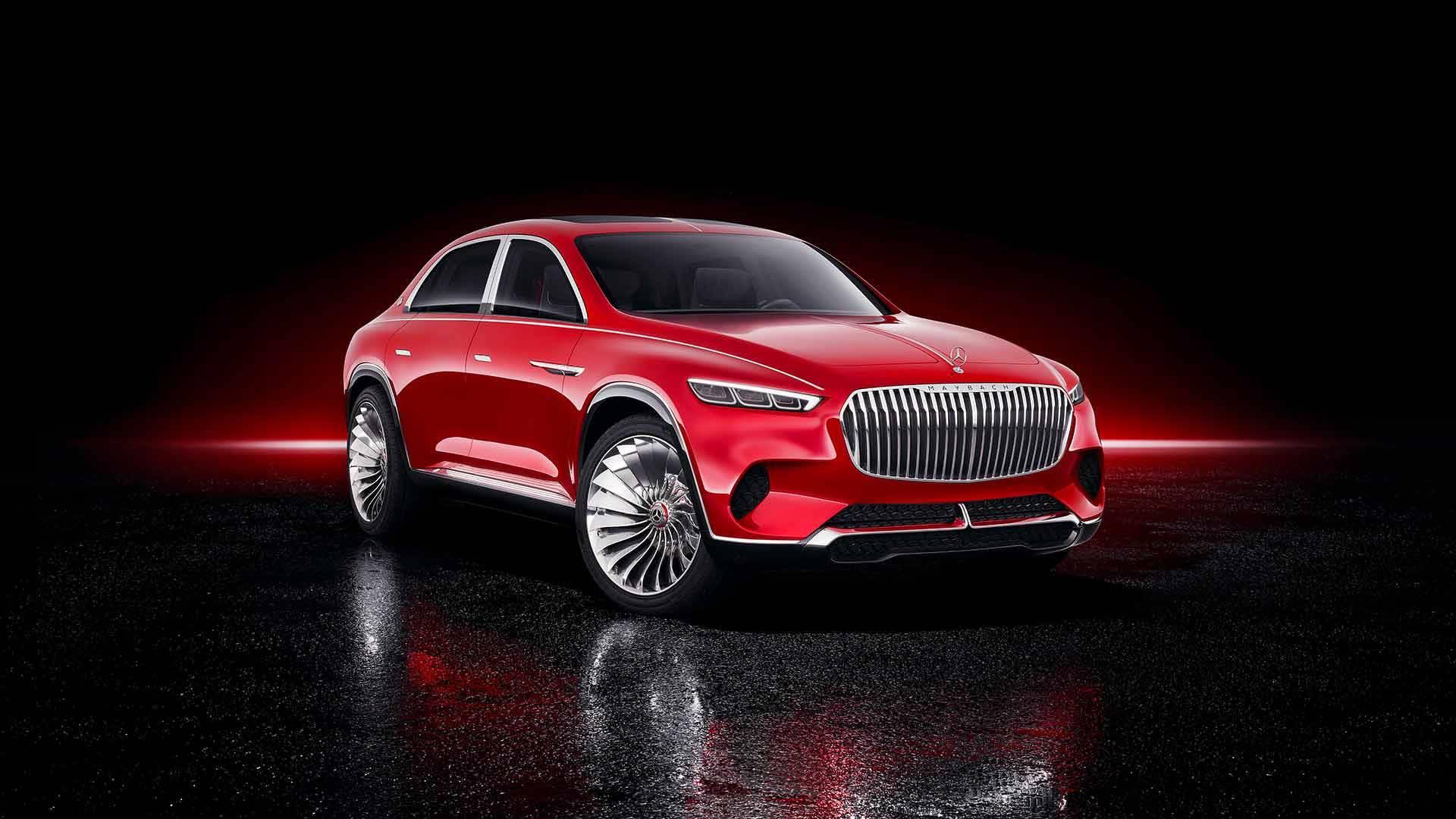 مرسيدس مايباخ Vision Ultimate Luxury الاختبارية