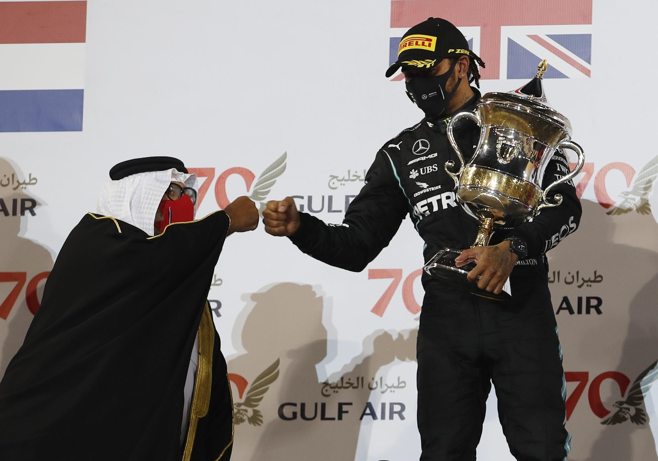 هاميلتون - جائزة البحرين الكبرى