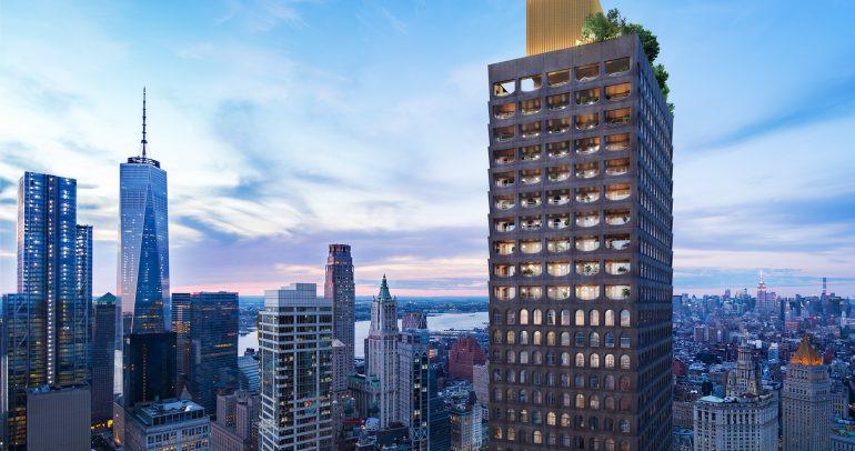 أستون مارتن تتعاون مع السير ديفيد أدجاي لإنشاء خمسة منازل فخمة بمدينة نيويورك
