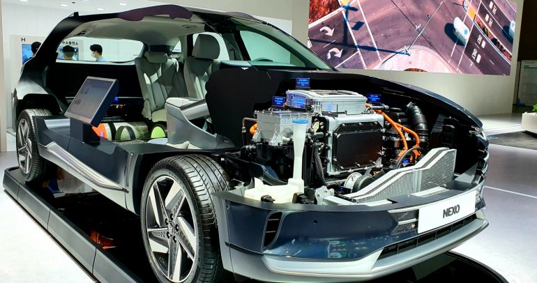 تعاون بين شركتي هيونداي موتور وإنيوس لتعزيز اقتصاد الهيدروجين عالميا