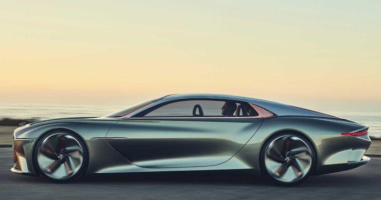 بنتلي EXP 100 GT الاختبارية