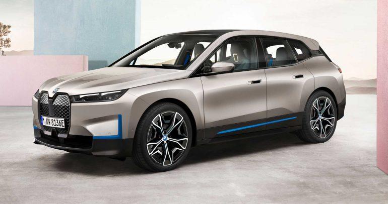 بي إم دبليو IX 2022 .. سيارة دفع رباعي كهربائية بتكنولوجيا رائدة