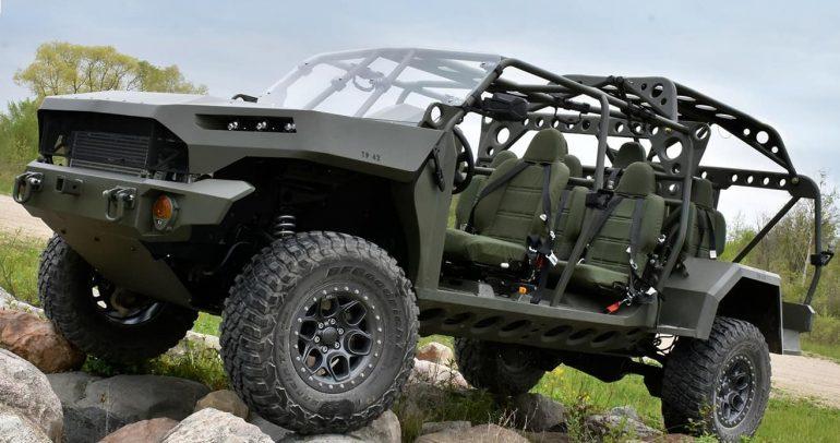 جنرال موتورز تسلم أول مركبة مشاة ISV إلى الجيش الأميركي