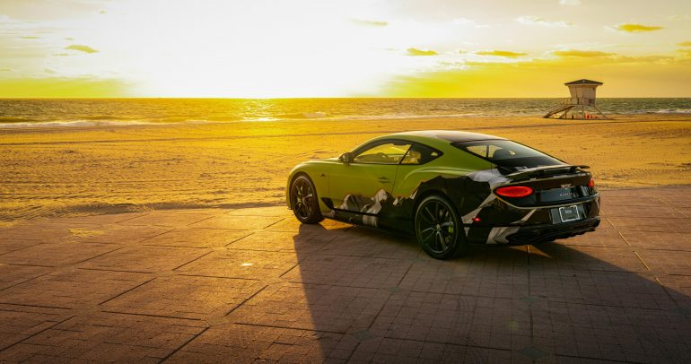 بنتلي تبدأ بتسليم العملاء Pikes Peak Continental GT Limited Edition