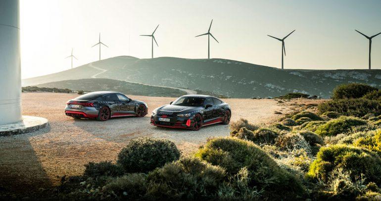 """أودي e-tron GT تدخل خط الإنتاج في مصنع """"بولينغر هوفه"""""""