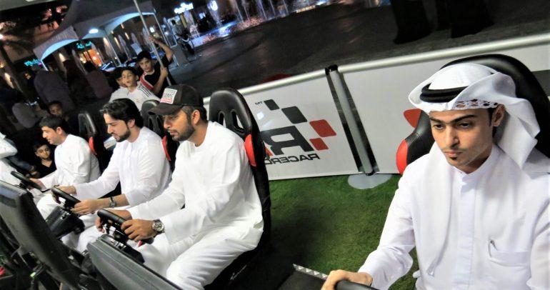 بطولة سباق سيارات إلكترونية في دبي والجائزة 20 ألف درهم