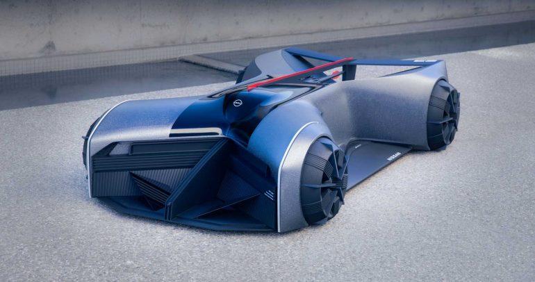 نيسان تبني جي تي آر إكس 2050: سيارة تدمج الإنسان بالآلة