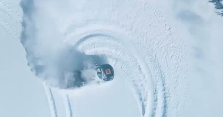 فيديو.. فورد تختبر F-150 الكهربائية بدريفت مذهل على الجليد