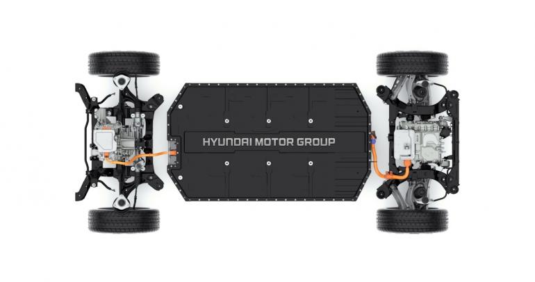 ما هي منصة E-GMP الكهربائية النموذجية التي أطلقتها هيونداي؟
