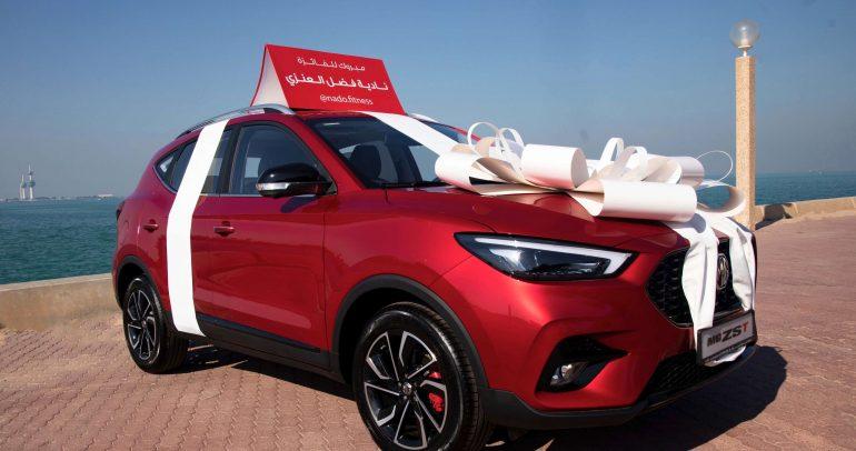 'إم جي'تحتفل بنجاح MG ZST الجديدة للعام 2021 في الشرق الأوسط
