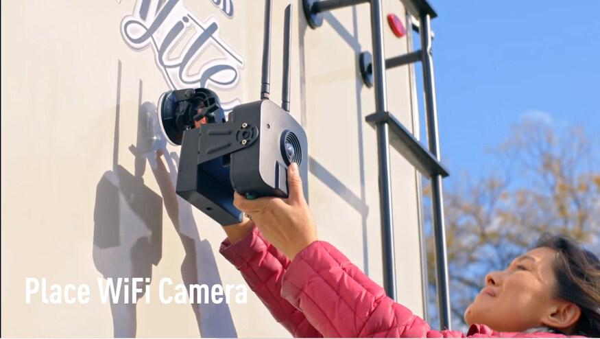 كاميرا واي فاي لاسلكية