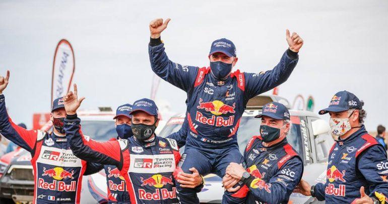 بيترهانسل يحسم لقب السيارات في داكار السعودية وثلاثة ألقاب لأمريكا الجنوبية
