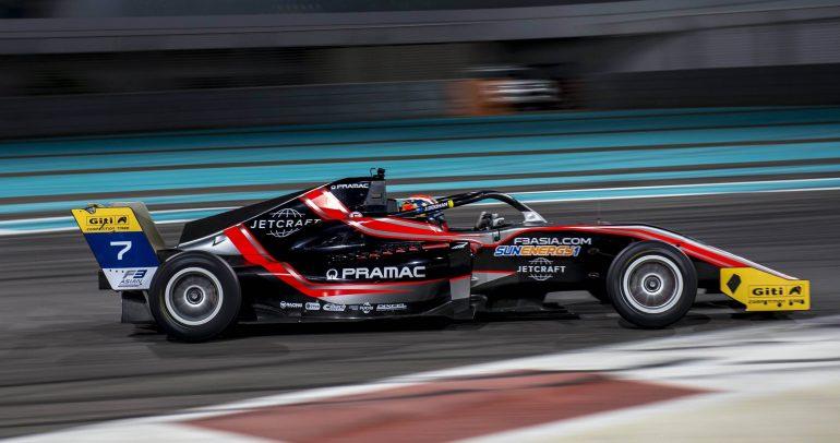 الإمارات تستضيف حصرياً سلسلة سباقات فورمولا 3 آسيا 2021