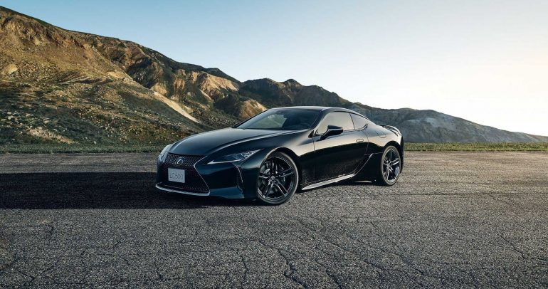 لكزس تطلق إصدر LC 500 Inspiration Series الخاص لعام 2021