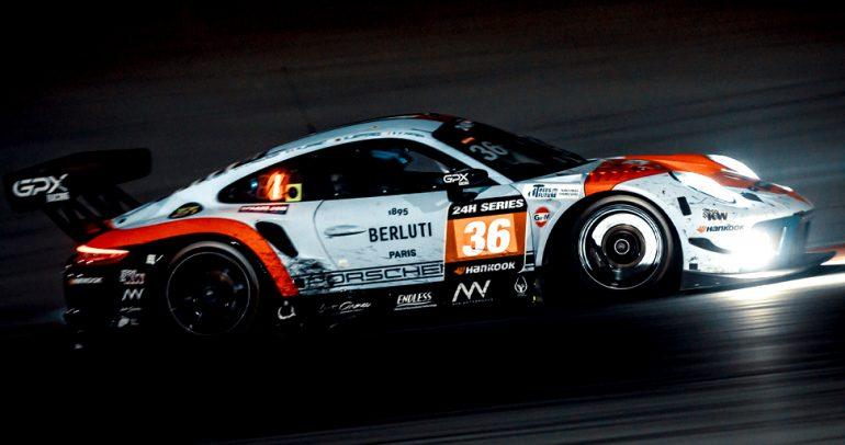 فريق GPX Racing يفوز في سباق هانكوك 24 ساعة دبي لعام 2021