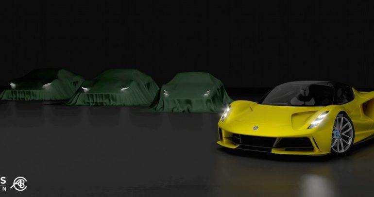 لوتس تطلق سيارة رياضية جديدة وتودع إنتاج إليز، إكسيج وإيفورا