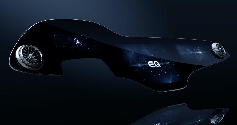 سيارة مرسيدس EQS: مجهزة بنظام الوسائط المتعددة MBUX Hyperscreen المبتكر