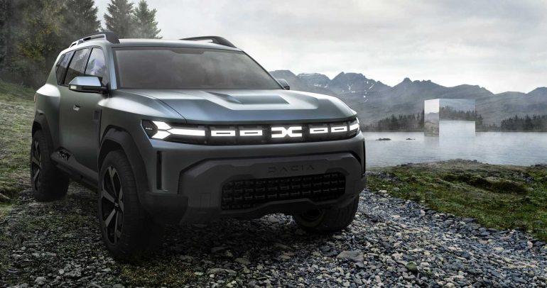 داسيا: سيارة مفهوم مذهلة وثلاثة طرز جديدة بحلول 2025