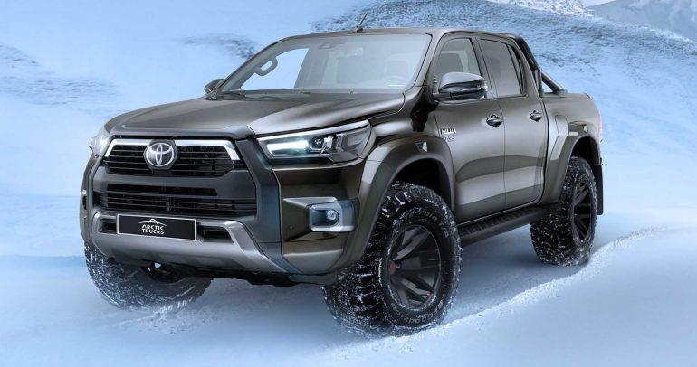 تويوتا هايلكس الجديدة بنسخة Arctic Trucks AT35 القوية