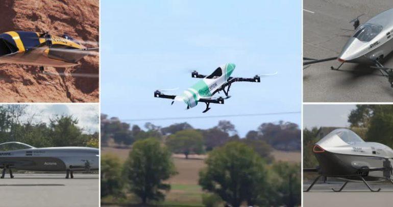 انطلاق سباق السيارات الطائرة في الجو هذا العام
