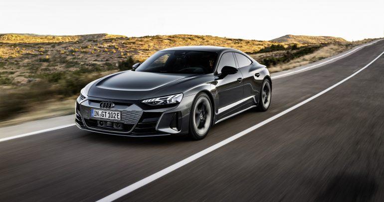 سيارة أودي e-tron GT .. أعلى مستويات الديناميكية والجودة