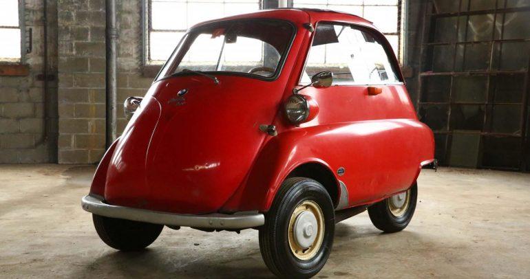 بي إم دبليو إيزيتا .. السيارة الكلاسيكية الشهيرة  تعرض في المزاد