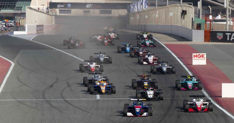 ختام رائع لموسم فورمولا 3 آسيا برعاية جيتي للإطارات