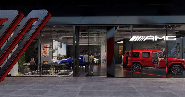 """مجموعة قرقاش و""""Mercedes-AMG"""" تفتتحان أول متجر لسيارات """"AMG"""" في العالم بالإمارات"""
