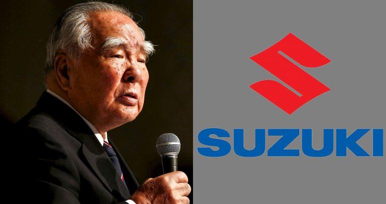 رئيس سوزوكي يتقاعد بعمر الـ91 عاماً ويعلّق: سأظل نشيطاً