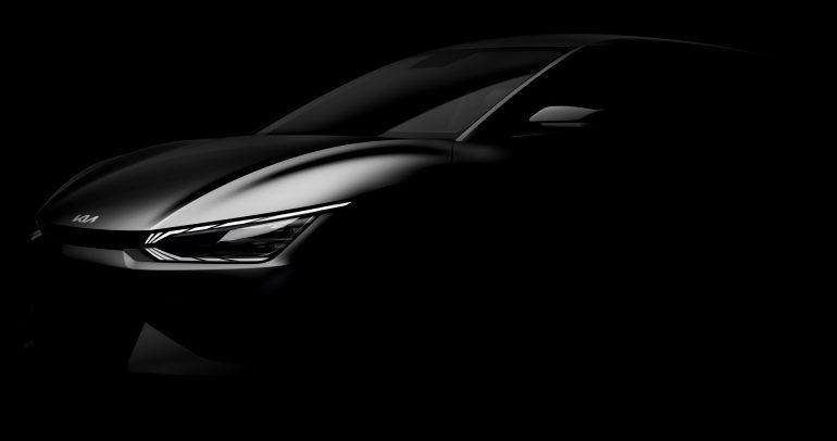 كيا تصدر صوراً تشويقية لطراز EV6 أول سياراتها الكهربائية الفائقة