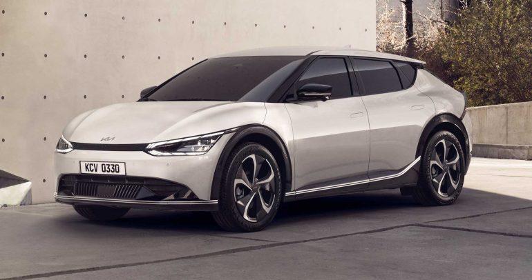 """سيارة EV6 لعام 2022.. فلسفة تصميم كيا الجديدة """"وجه النمر الرقمي"""""""