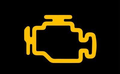 ضوء تحذير فحص المحرك